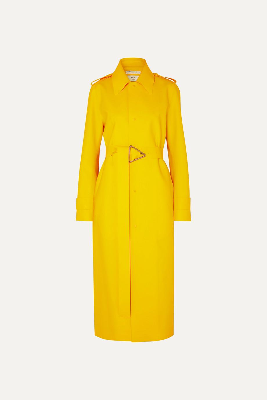 Bottega Veneta PU trench coat