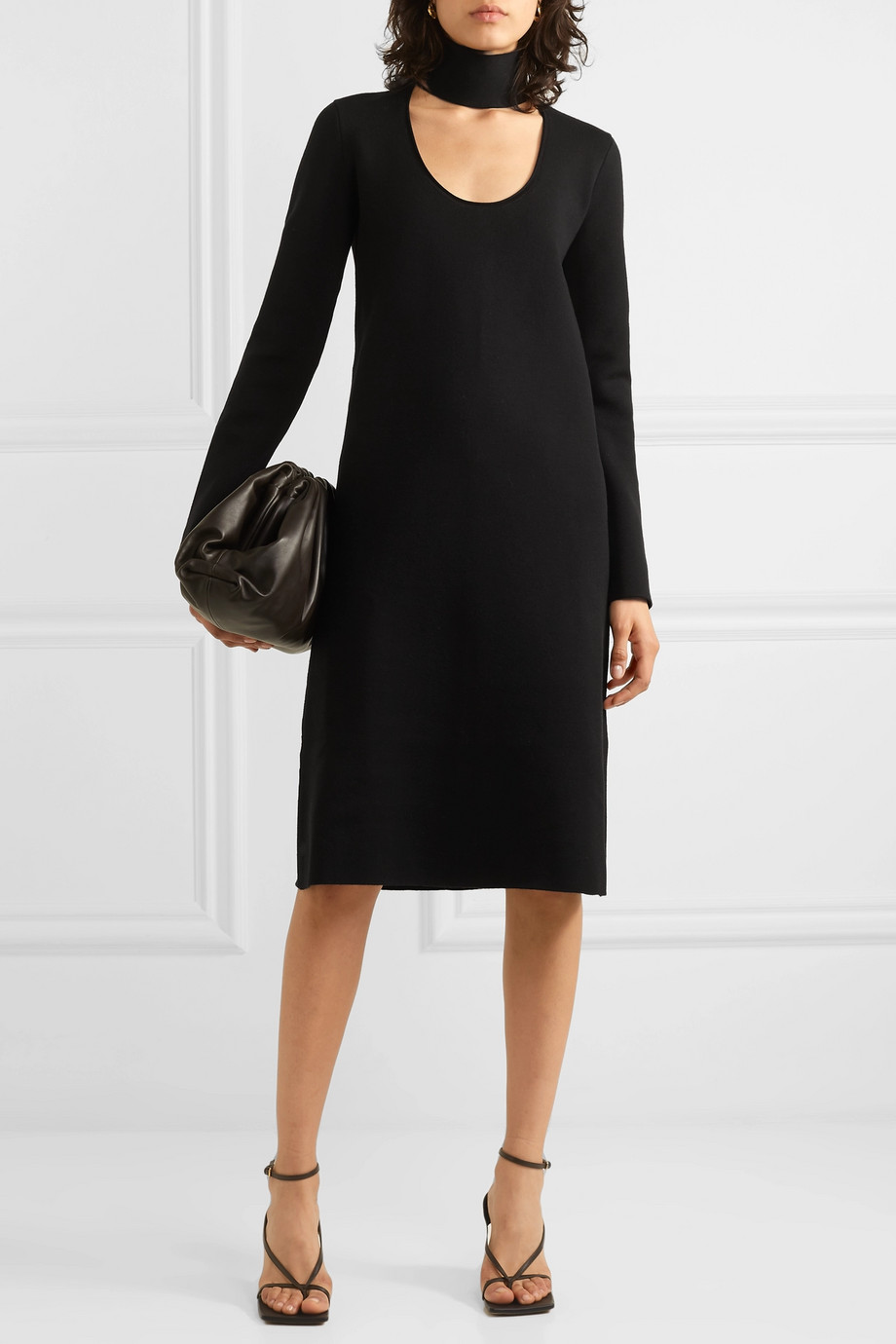 Bottega Veneta Cutout stretch-knit dress