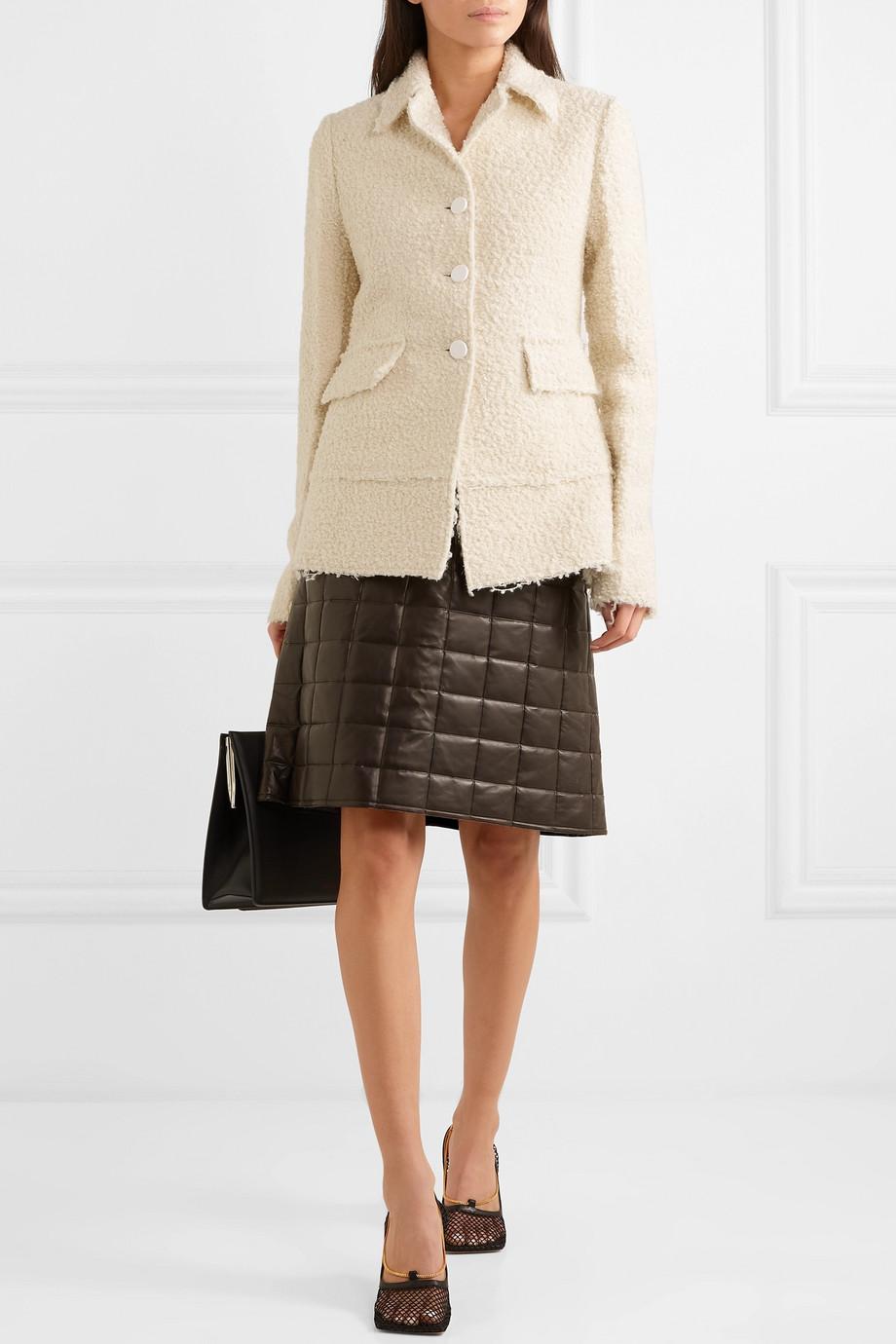 Bottega Veneta 圈圈呢外套