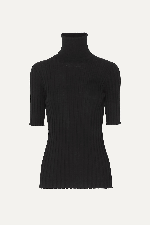 Bottega Veneta Ribbed merino wool-blend turtleneck sweater