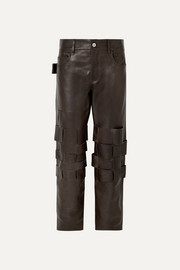 Bottega Veneta Intrecciato leather pants