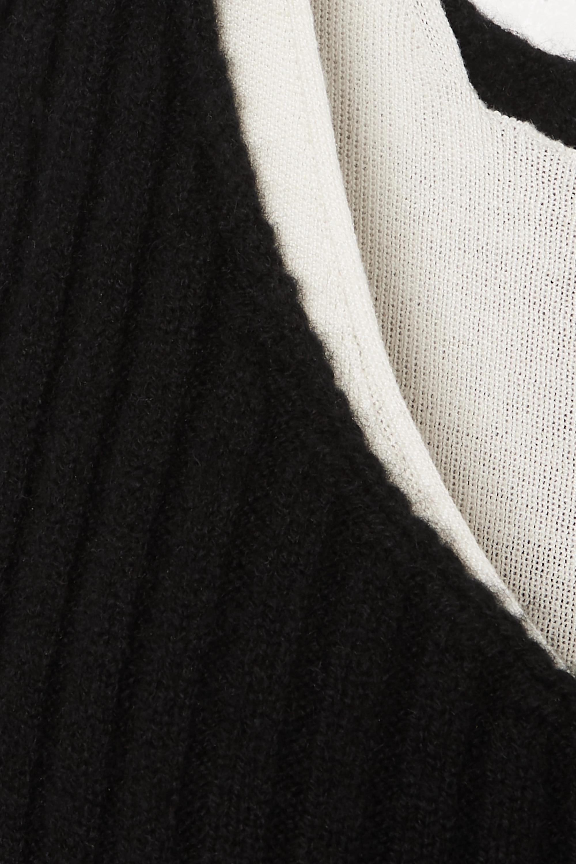 Bottega Veneta Haut en cachemire mélangé à superposition