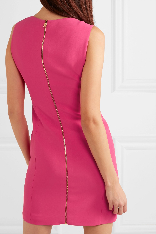 Versace Mini-robe en crêpe à ornements