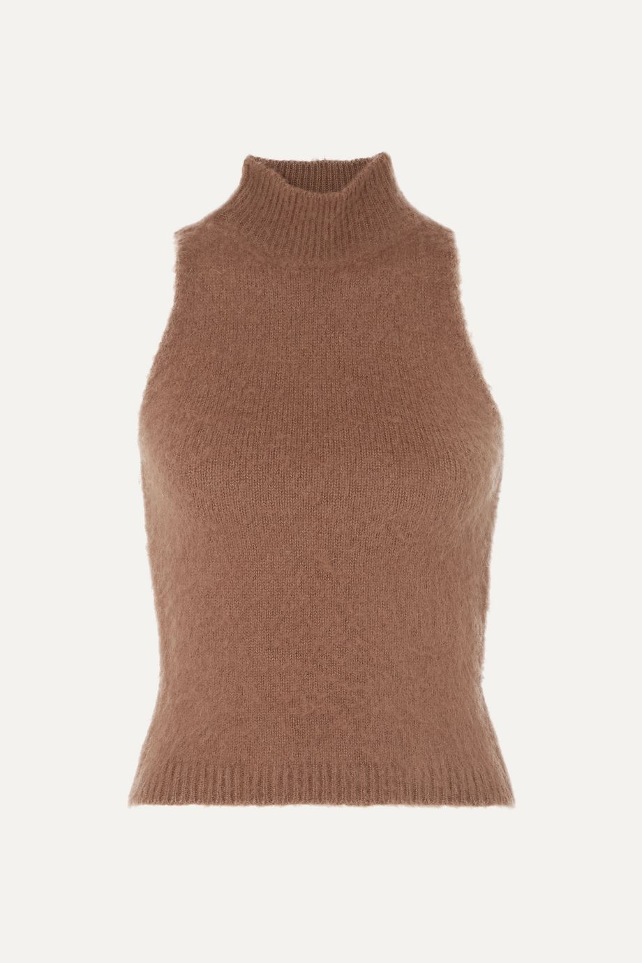 Versace Knitted turtleneck top