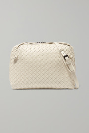 Bottega Veneta Nodini small intrecciato leather shoulder bag