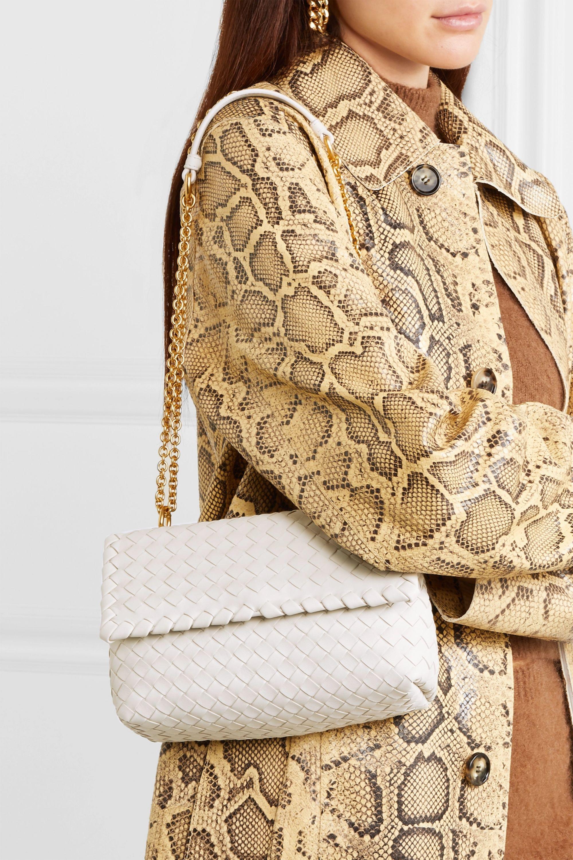 Bottega Veneta Sac porté épaule en cuir intrecciato Baby Olimpia