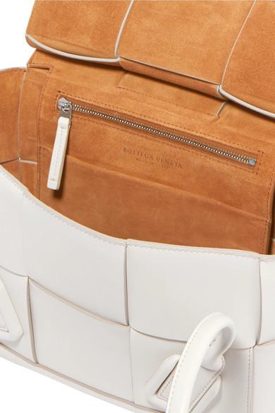 Bottega Veneta Totes Arco small intrecciato leather tote