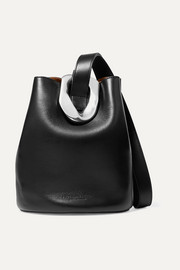 Bottega Veneta Sac seau en cuir à ornement Drop Small