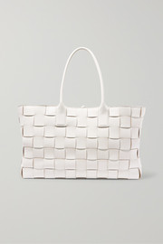 Bottega Veneta Cabas medium intrecciato leather tote