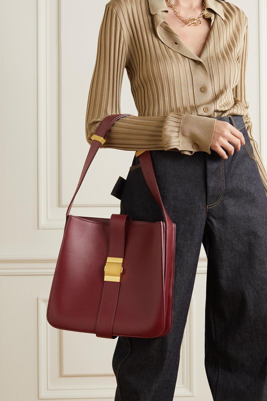 Bottega Veneta Marie mittelgroße Schultertasche aus Leder