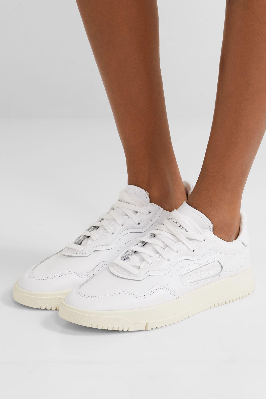 White SC Premiere leather sneakers