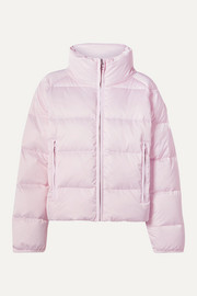 Tory Sport Cropped quilted shell down jacket