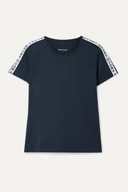 Tory Sport Banner printed stretch T-shirt