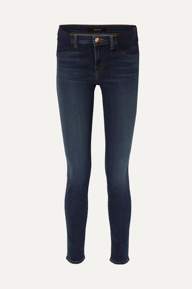 2cd13f30bba8b J Brand | Mama J mid-rise skinny maternity jeans | NET-A-PORTER.COM