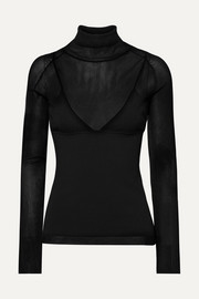Proenza Schouler Ribbed-knit turtleneck sweater