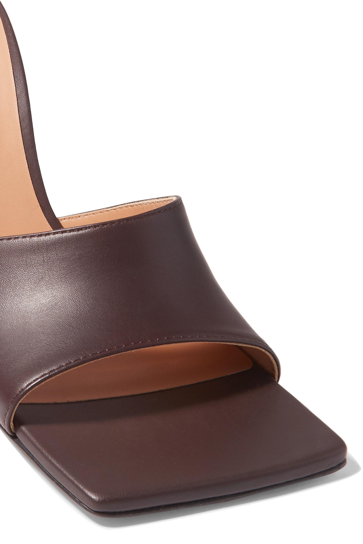 Bottega Veneta Leather mules