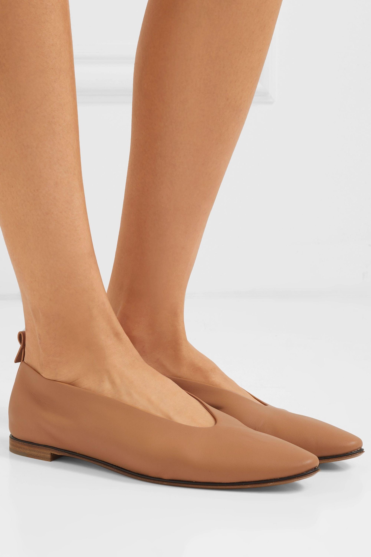 Sand Leather ballet flats | Bottega