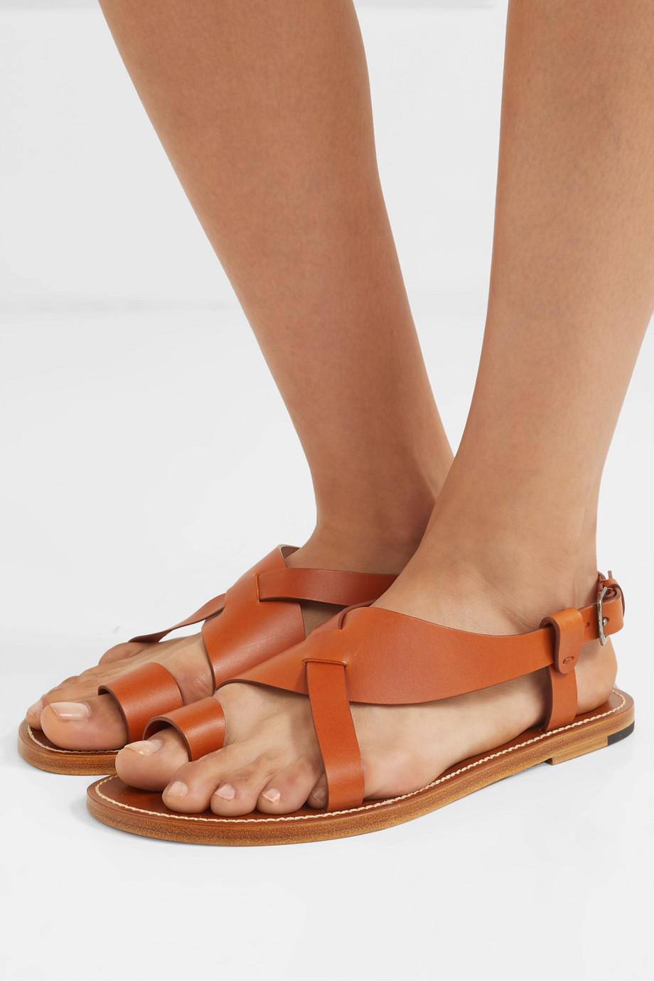 Bottega Veneta Woven leather sandals