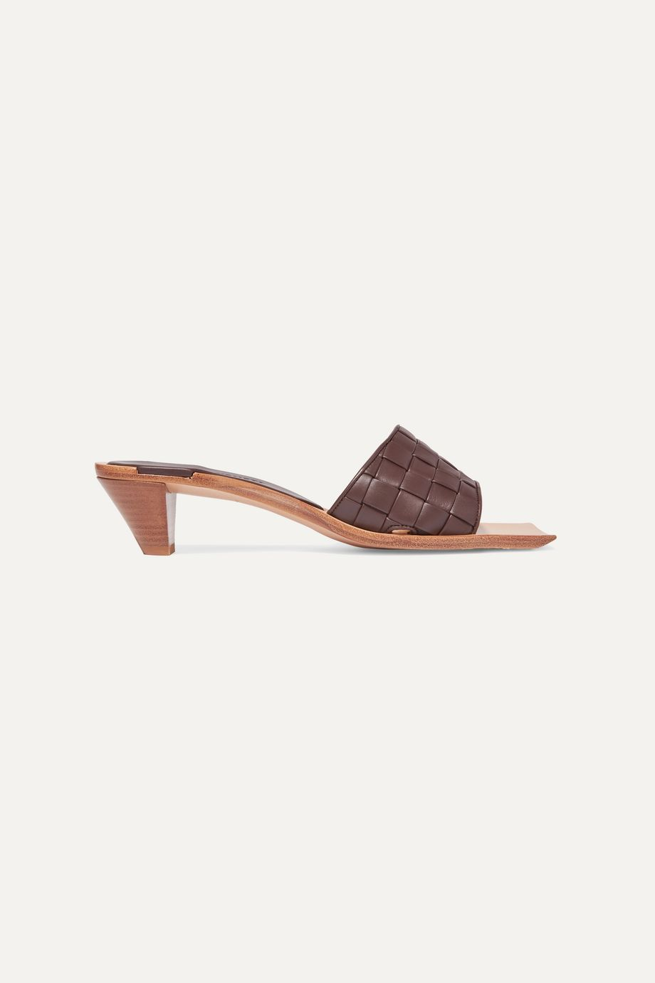 Bottega Veneta Intrecciato leather mules