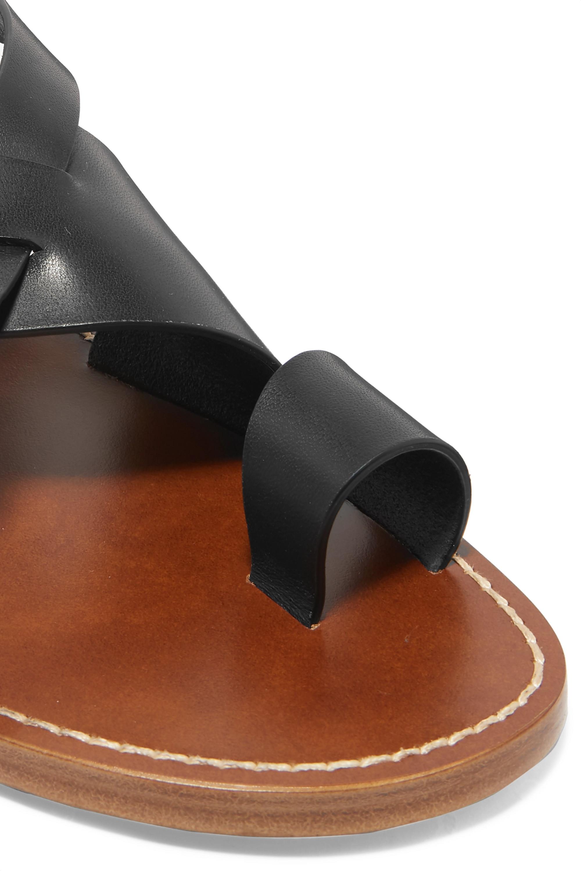 Bottega Veneta Sandalen aus geflochtenem Leder