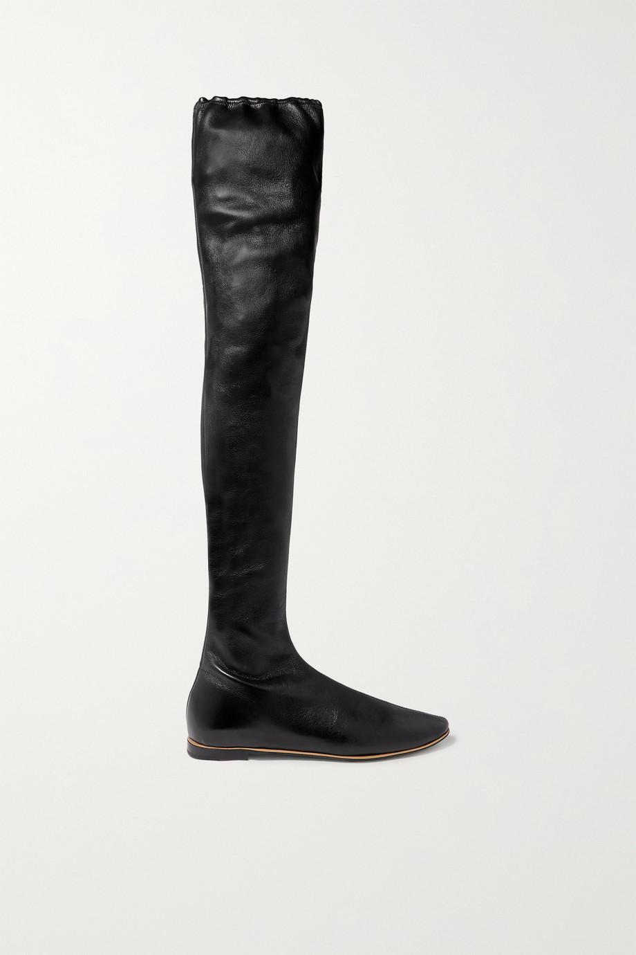 Bottega Veneta Leather over-the-knee boots