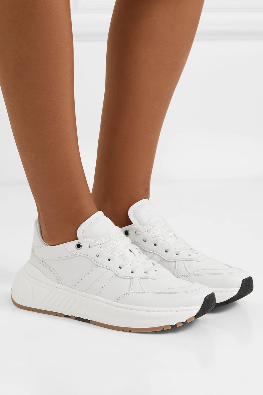 Bottega Veneta Speedster 皮革运动鞋