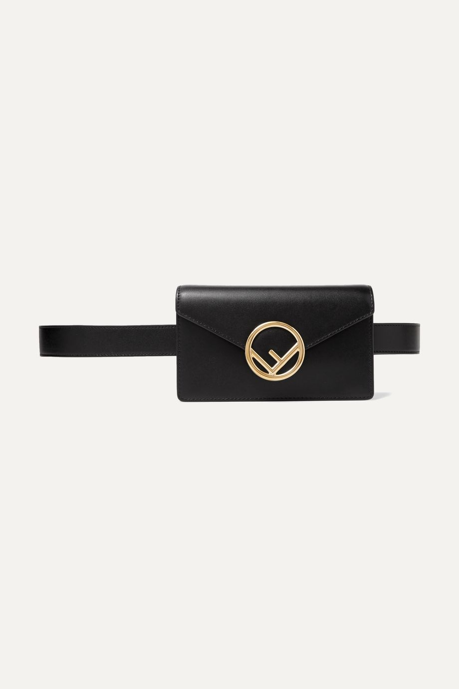 Fendi Textured-leather belt bag