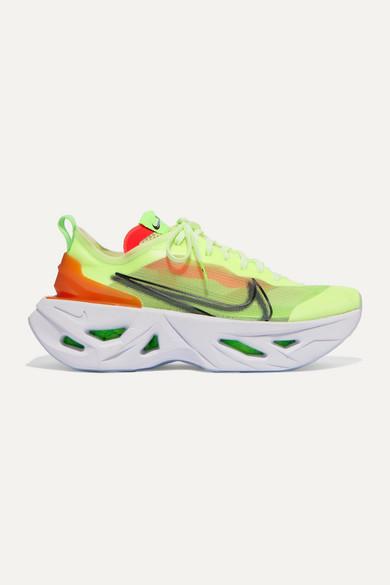 great look wide varieties sleek ZoomX Vista Grind neon mesh sneakers