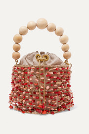 Rosantica Antares embellished bucket bag