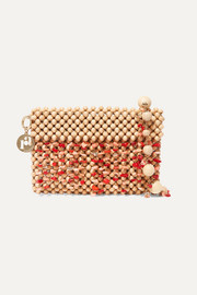 Rosantica Aquila beaded shoulder bag