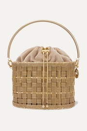 Perseo gold-tone tote
