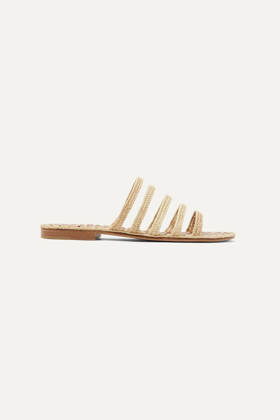 Carrie Forbes Asmaa woven raffia sandals