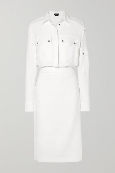 Tom Ford Dress Stretch-crepe midi dress