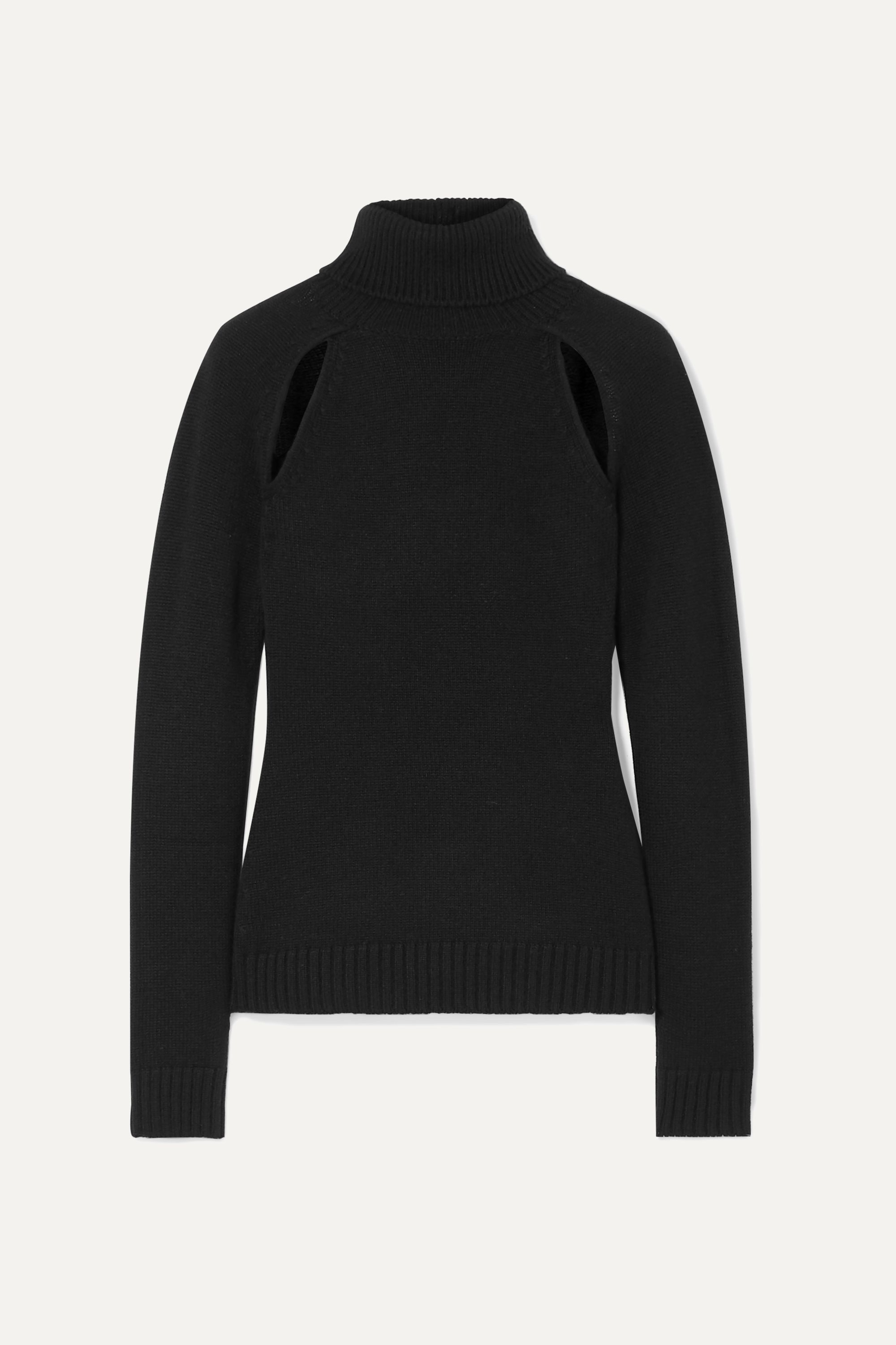 TOM FORD Cutout cashmere turtleneck sweater