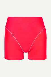 Neon stretch shorts