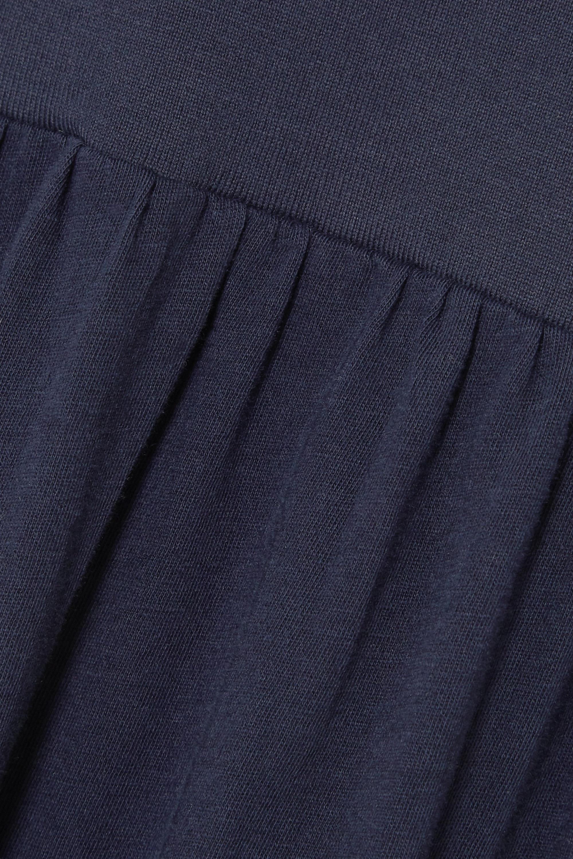 Ninety Percent 【NET SUSTAIN】有机纯棉平纹布超长连衣裙