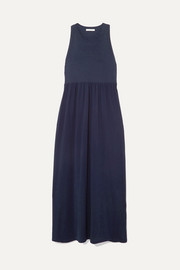 Ninety Percent + NET SUSTAIN organic cotton-jersey maxi dress