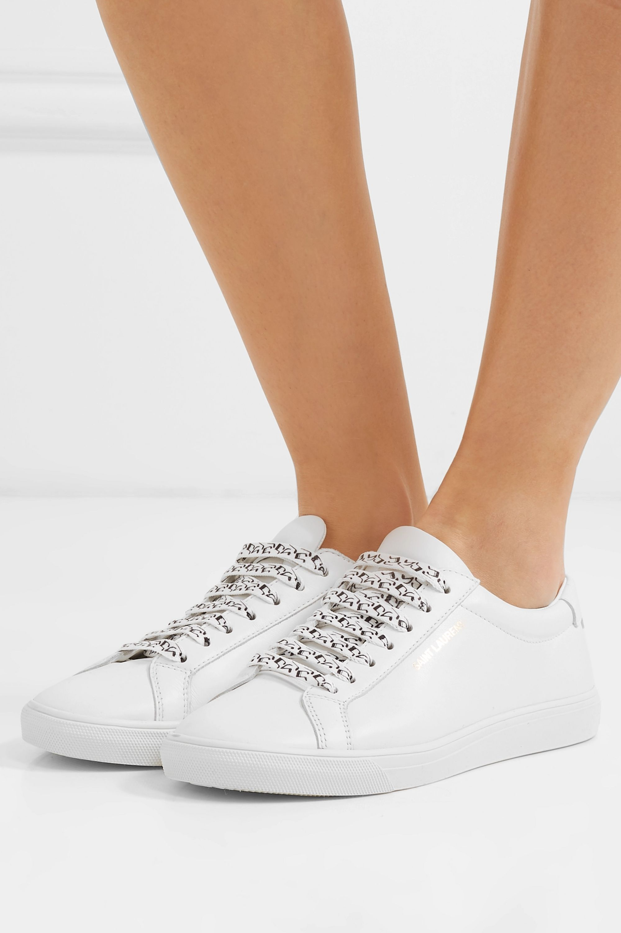 Andy leather sneakers | SAINT LAURENT