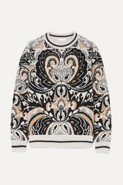 See By Chloé Intarsia wool-blend sweater