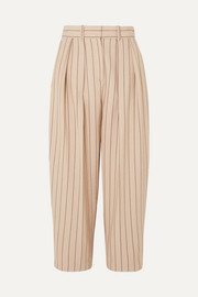 See By Chloé Pinstriped twill pants