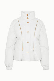 See By Chloé Zip-detailed shell down jacket