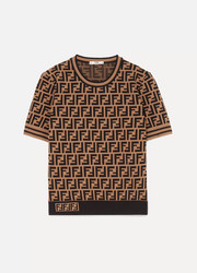 Fendi Intarsia-knit sweater