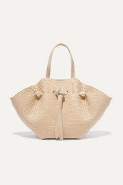 Nanushka Lynne mini croc-effect faux leather tote