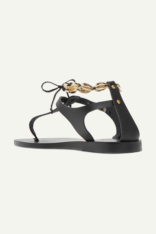 Ancient Greek Sandals Asimina embellished leather sandals