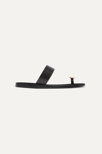 a15649a77 Ancient Greek Sandals | Thalia Coin leather sandals | NET-A-PORTER.COM