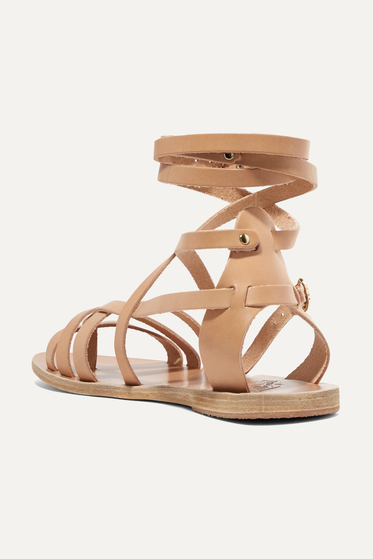 Beige Satira Leather Sandals | Ancient Greek