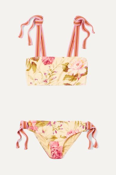 289e6ead573d6 Zimmermann Kids | Honour floral-print bikini | NET-A-PORTER.COM