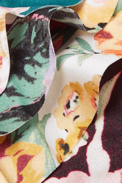 1ecbbec3651af Zimmermann Kids. Allia ruffled floral-print bikini. $95. Kidswear. Zoom In