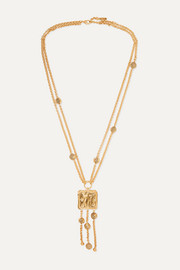 Femininities gold-tone necklace