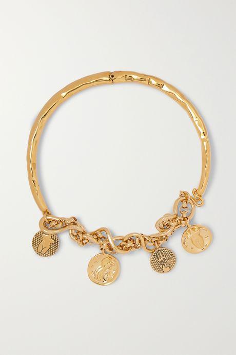 Gold Gold-tone necklace | Chloé 0HmpuP